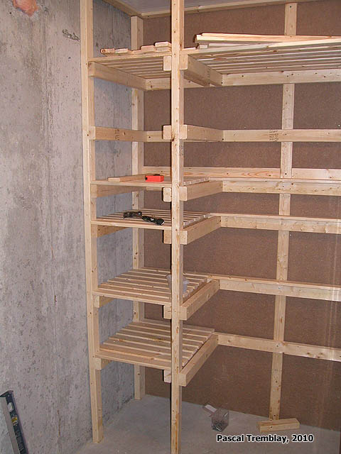 Positive cold room plan food storage shelves and for Storage room plan
