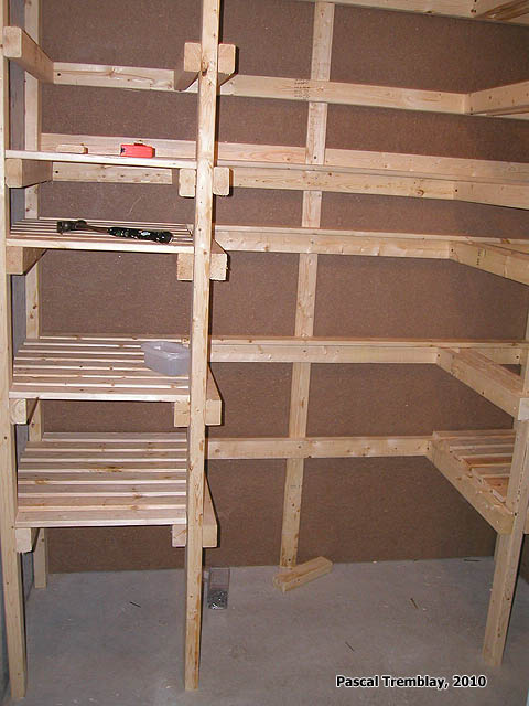 ... Shelves - Canning room - Canned food storage - Cold storage room
