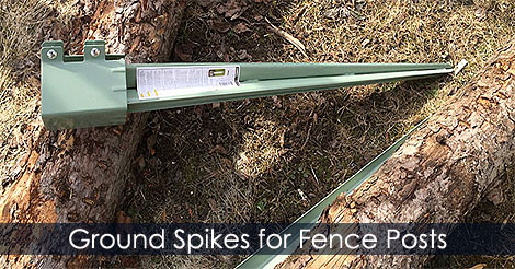 Post Spikes How To Use A Post Spike For Making A Fence Brace