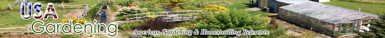 USA Gardener - USA Gardens - Homesteading USA - Gardening association - USA Gardening community - USA Gardening guides - USA How-to