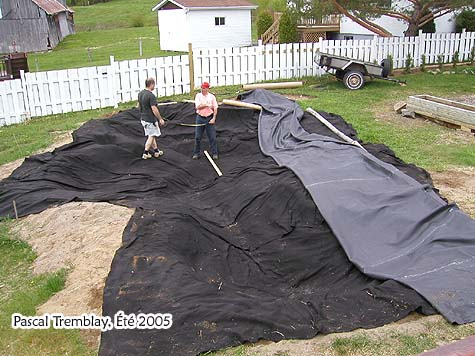 Other backyard pond build a large pond in your garden for Building a pond with liner
