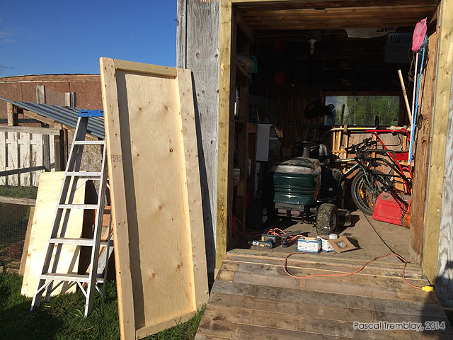 How To Fix A Shed Door   Installing A Shed Doors