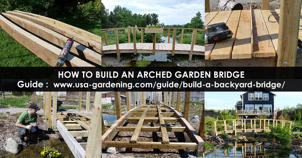 Garden Bridge Build Wood Garden Bridge Design Idea Diy Usa Plans