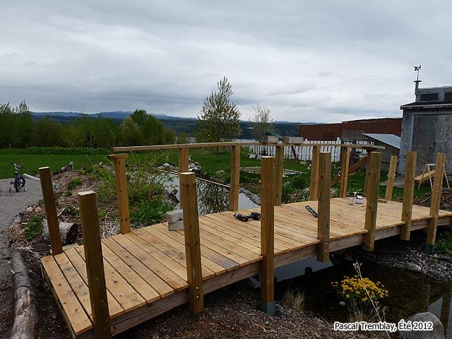 Garden Bridge My Arch Wooden Pond Selecting A Site Boss Forum