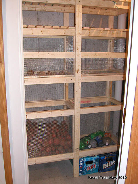 Walk In Cold Room in Basement - Canned Food Storage USA Ideas